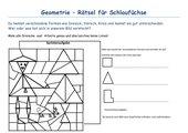 Geometrierätsel - Dreiecke