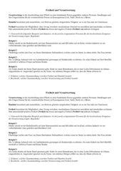 Freiheit und Verantwortung - Arbeitsblatt