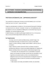 Praktische Aufgabenstellung: Empfindungslandschaft in Acrylfarben (Kunst, Q1)