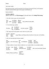 Arbeitsblätter zur Übung von AcI (orientiert an Lumina) mit Lösungen