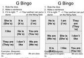 (to) be - Bingo