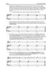 Anleitung zum Melodien Erfinden, Komponieren