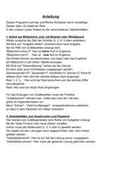 Schriftliche Multiplikation und Division