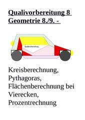 Qualivorbereitung Geometrie 8