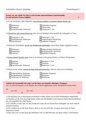 Überprüfungstest Satzgefüge