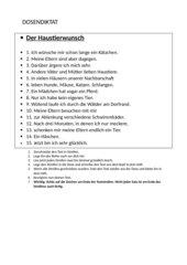 Dosendiktat Klasse 4 Äu/äu/ä/Ä