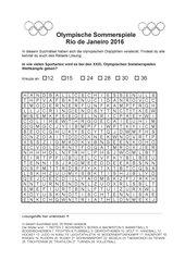 Olympische Sommerspiele 2016 Quiz