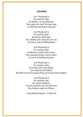 Arbeitsmaterialien Gedichtegeschichten 4teachersde