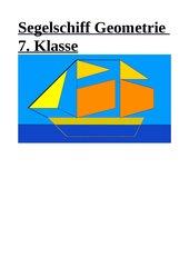 Geometrie - Segelschiff