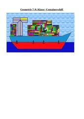 Geometrie 7./8. - Containerschiff