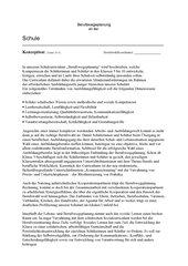 Berufswegekonzept Berufswegeplanung Konzeption OIB BORS