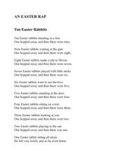 An Easter Rap   -  ab. Kl.3