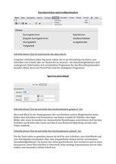 Word Formatieren: Zeichenabstand und Effekte