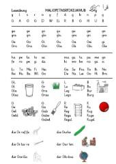 Alphabetisierung - Leseübung, Teil 4