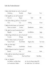 Teste dein Frankreichwissen!