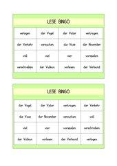 Lese-Bingo