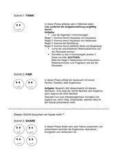 Vereinfachte Kommasetzung ThinkPairShare Methode