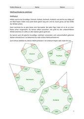 Winkel zeichnen: Sterne basteln