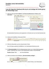 Serienbrief erstellen in XP