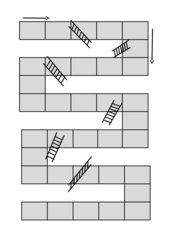 Leiterspiel blanco