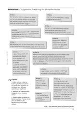 Satzgliedbestimmung - Thema: Menschenrechte
