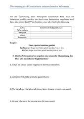Übersetzung des PC mit einem Nebensatz (PPP)