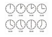 ?Qué hora es?