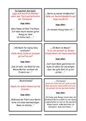 Lesespiel zur Lektüre Emil und die Detektive