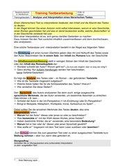 Interpretation literarischer Texte