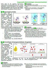 Angewandte Biotechnologiue: Immunassays