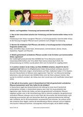 Frageblatt: Freisetzung und kommerzieller Anbau