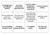 Zuordnungsspiel: Latona und die lykischen Bauern
