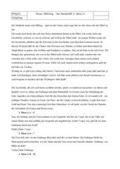 Bibliolog Sündenfall (1. Mose 3)