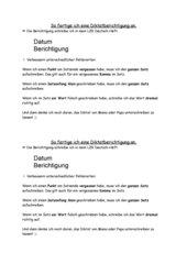 Anleitung zur Dikatberichtigung