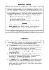 Erzählen/Erzählaufbau KL. 5+6
