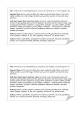 Personenbeschreibung Wortschatzliste