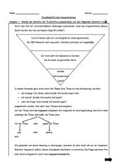 Grundbegriffe des Argumentierens (mit Lösungen)
