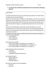 Emails lesen und verstehen (differenziert)