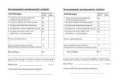 Klassenarbeit Gedichte Klasse 6 mit Bewertungsraster und Lösungen