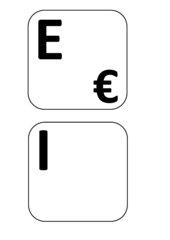 Tastschreiben-Tastatur-Buchstaben