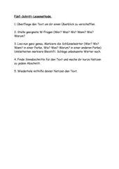 Fünf-Schritt-Lesemethode, Merkzettel