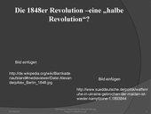 Die 48er Revolution eine halbe Revolution? UE