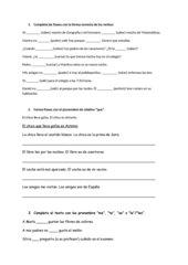 Wiederholung bzw. Klassenarbeitsvorbereitung