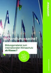 Bildungsmaterial Klimaschutz und Klimagipfel: Alles Verhandlungssache? (ab Klasse 7+ Einfacher Zugang für Klasse 5 und 6)