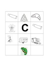Buchstabenbilder  C