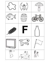 Buchstabenbilder F