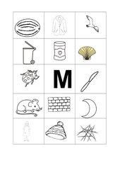 Buchstabenbilder  M