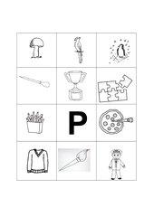 Buchstabenbilder  P