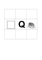 Buchstabenbilder  Q