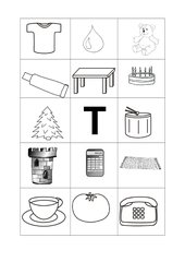 Buchstabenbilder  T